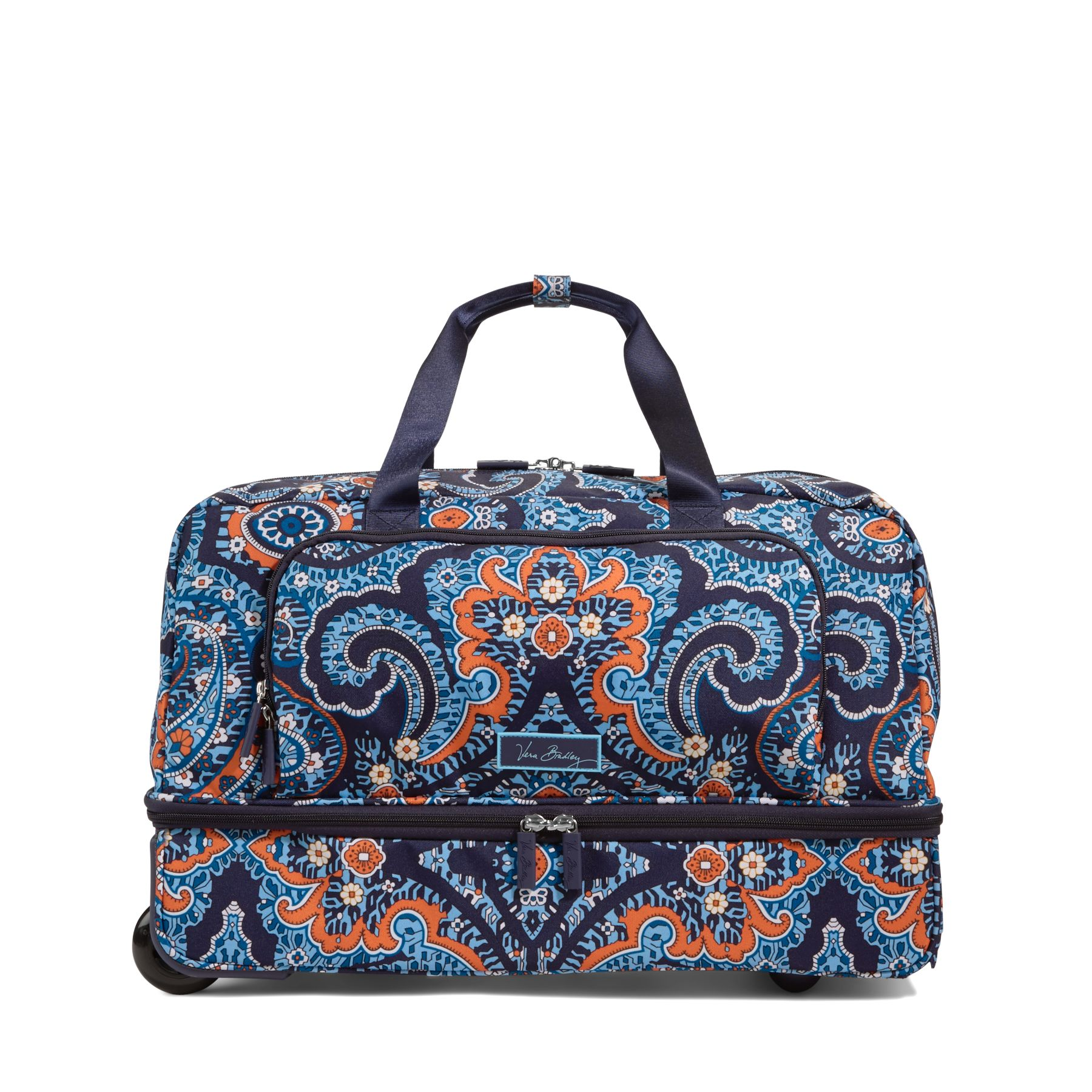 8a394921b0cc ... UPC 886003298718 product image for Vera Bradley Lighten Up Wheeled Carry  On in Marrakesh