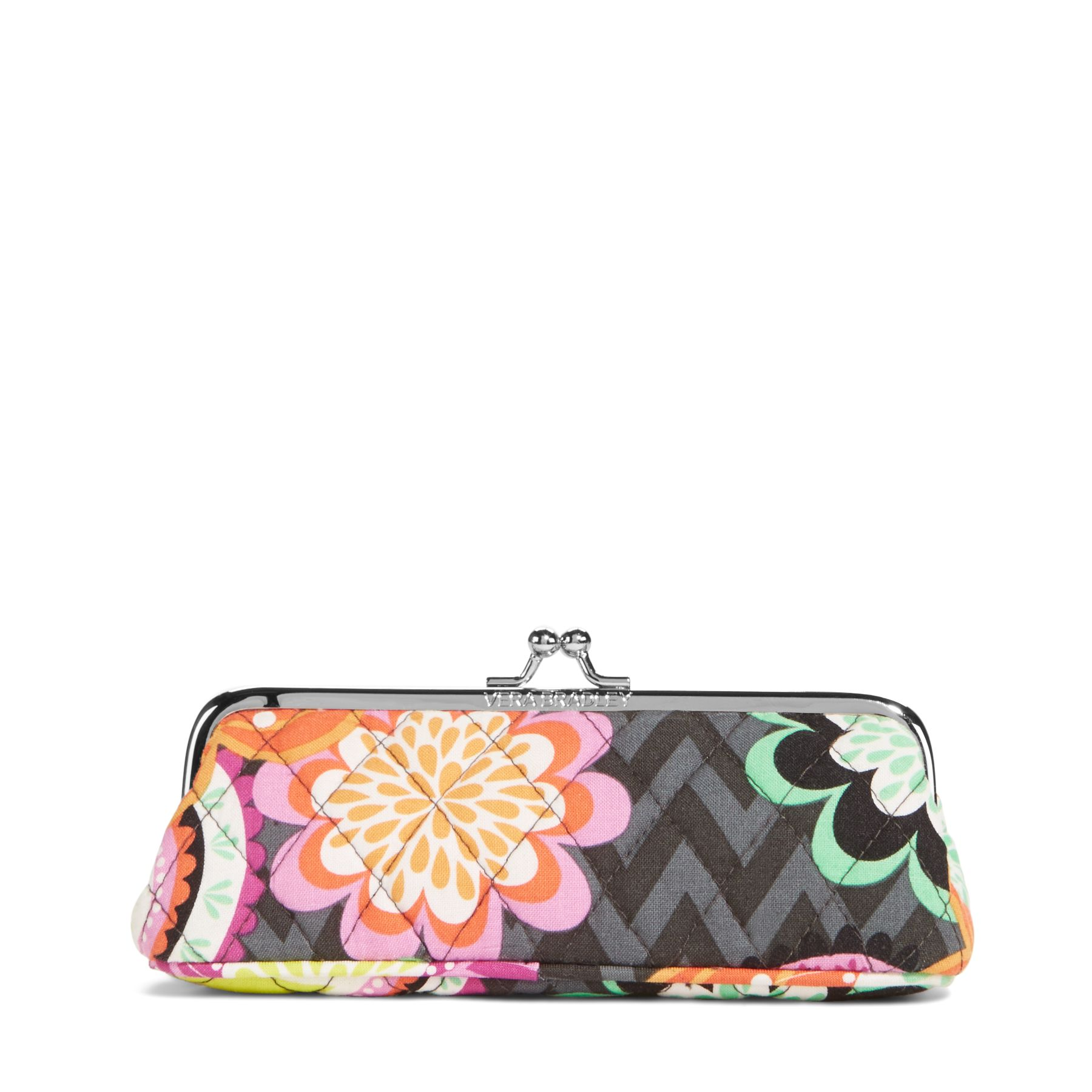 Vera Bradley Kisslock Case in Ziggy Zinnia