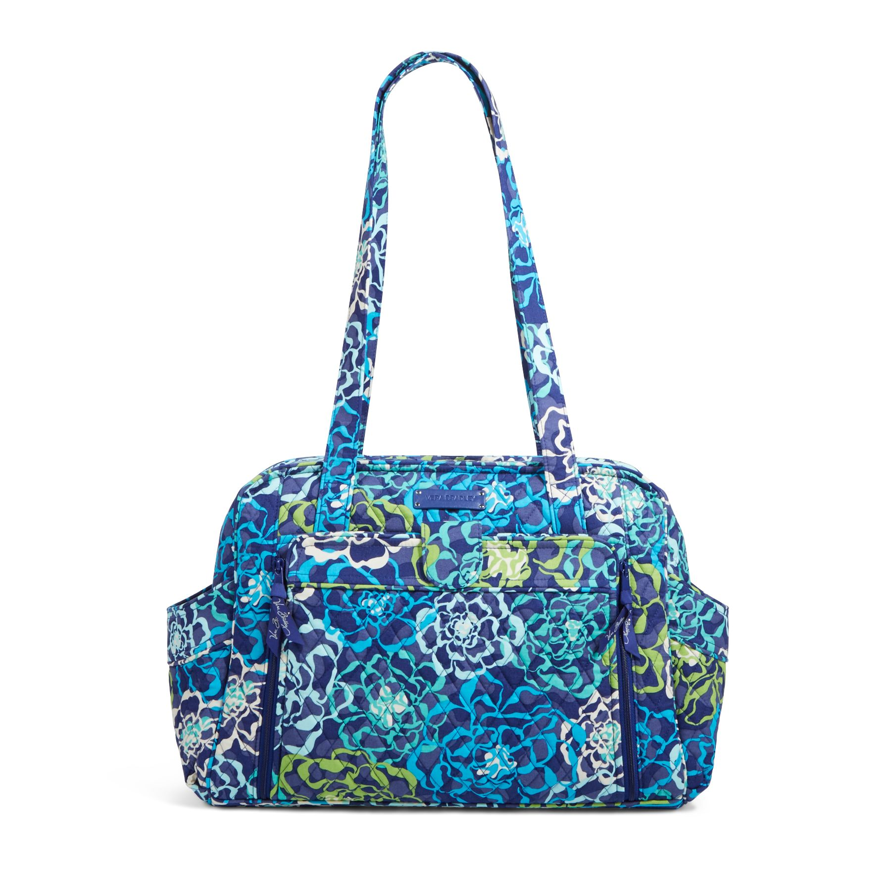 Vera Bradley Stroll Around Baby Bag in Katalina Blues