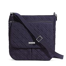 Double Zip Mailbag Crossbody