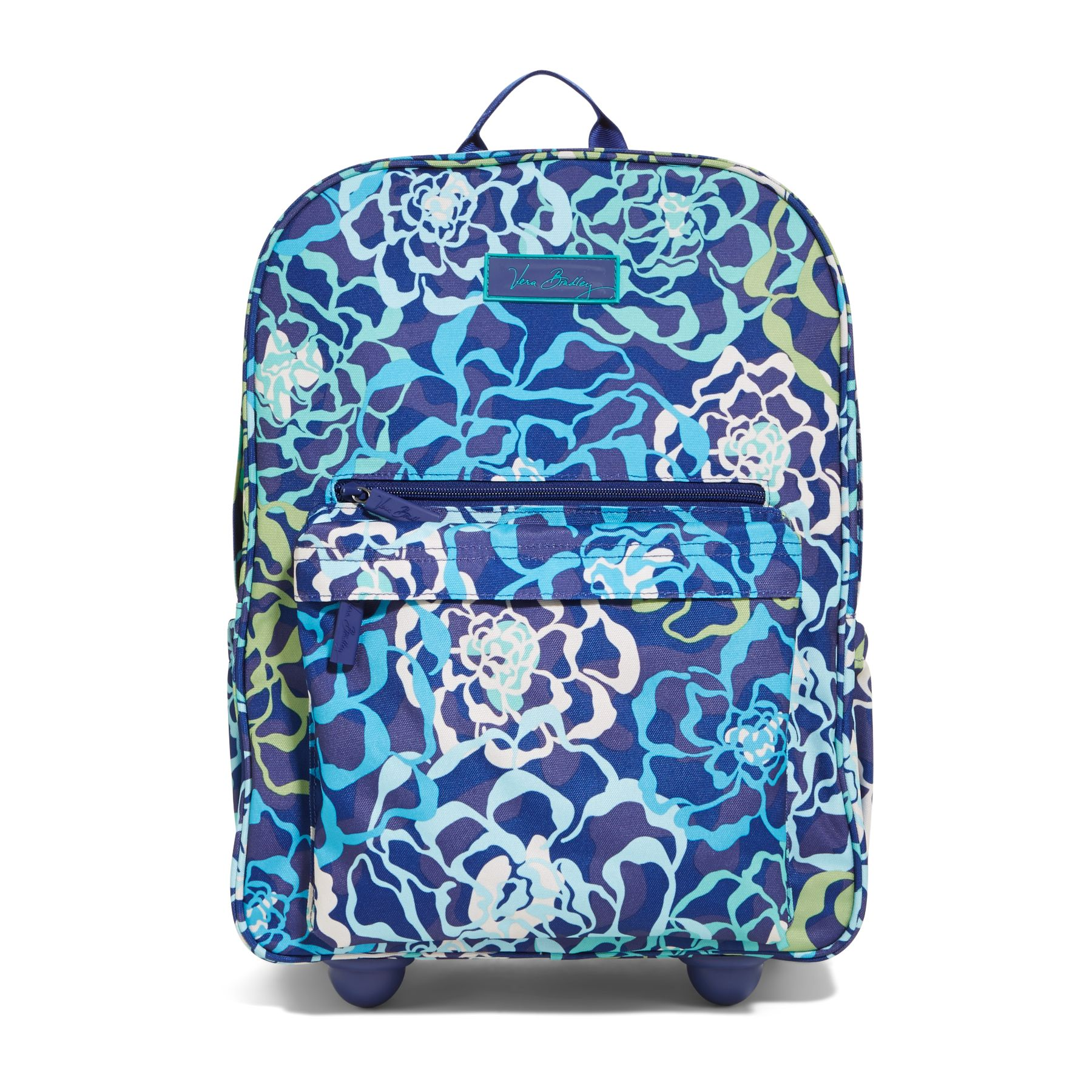 Blue Rolling Backpack - Crazy Backpacks