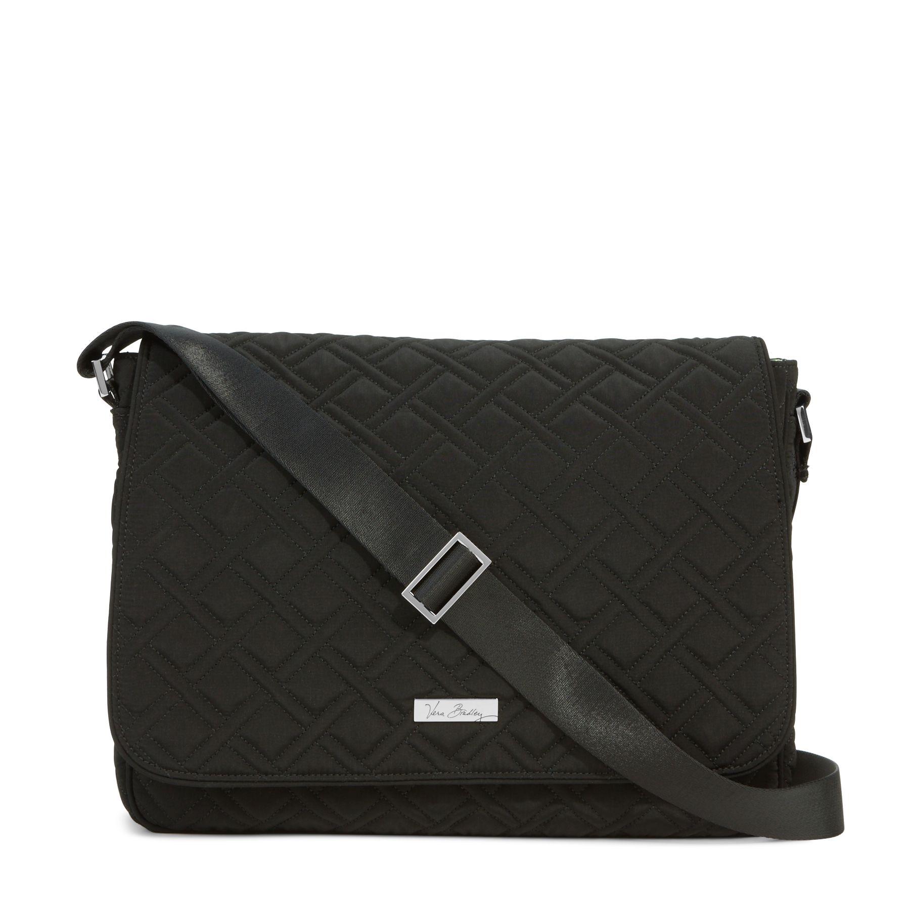 894c7a0fdb50 886003336441. Vera Bradley Laptop Messenger Crossbody Bag in Classic Black.  EAN-13 Barcode ...