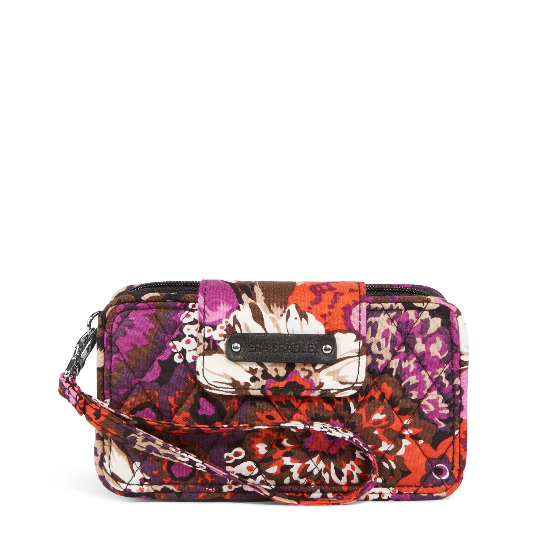 Vera Bradley Smartphone Wristlet for iPhone 6 in Rosewood