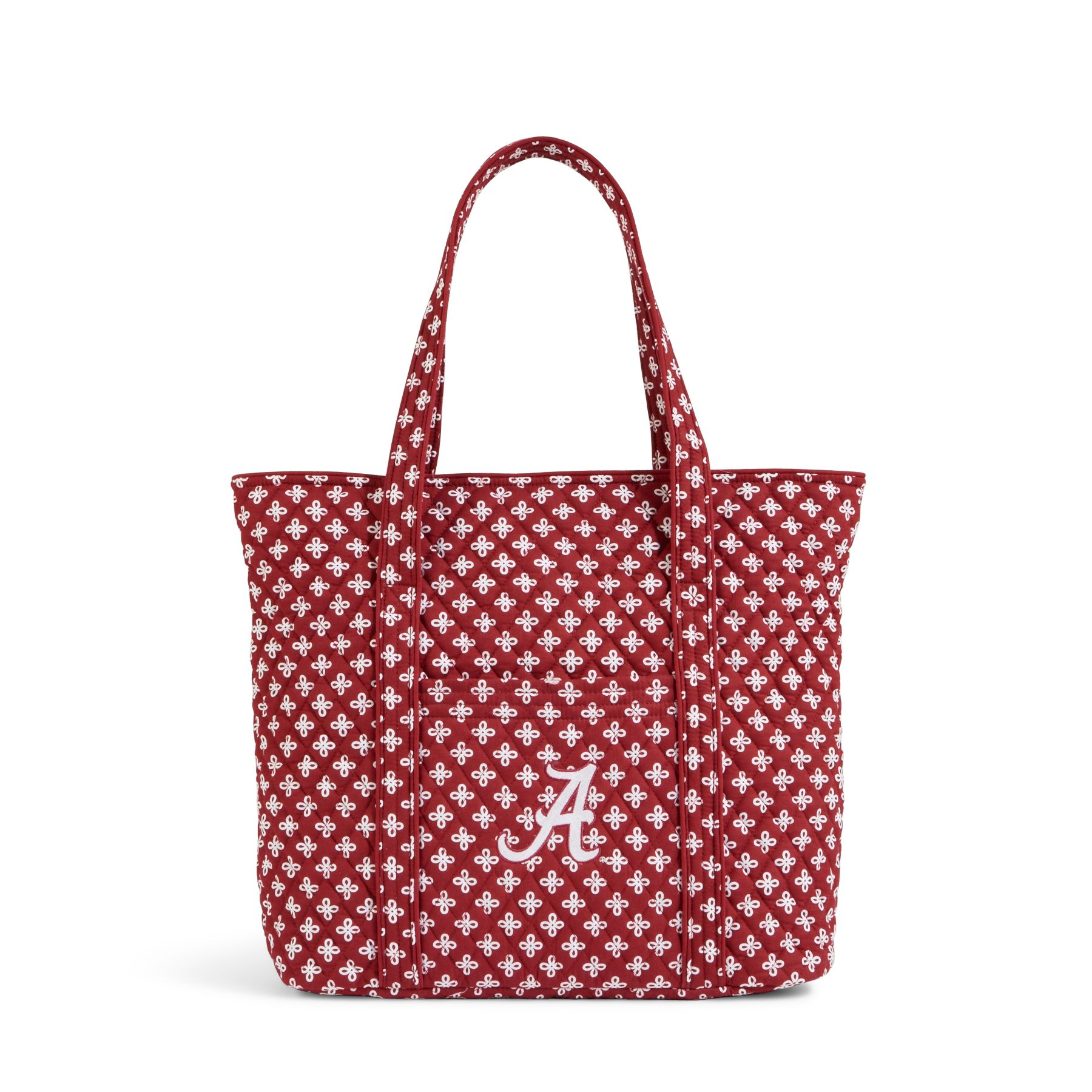 Vera Bradley Vera 2.0 Tote in Crimson/White Mini Concerto with Alabama