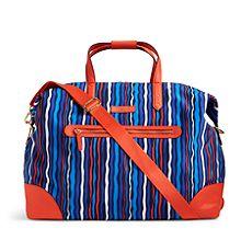 Preppy Poly Travel Duffel Bag