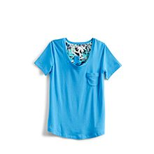 Knit Short Sleeve Pajama Tee