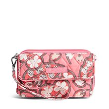 All in One Crossbody and Wristlet for iPhone 6+