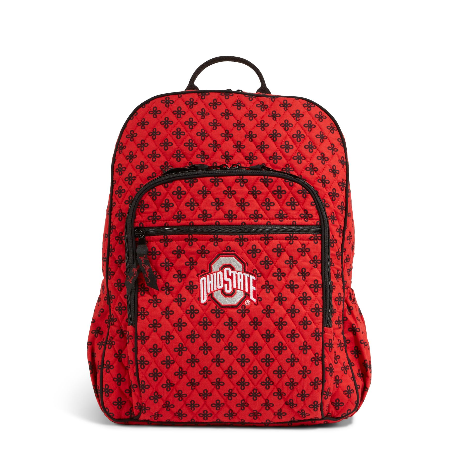 Vera Bradley Campus Backpack in Scarlet/Black Mini Concerto with Ohio St