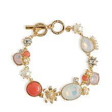 Full Bloom Toggle Bracelet
