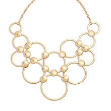 Mod Elegance Ring Necklace