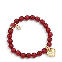 Love You More Beaded Bracelet