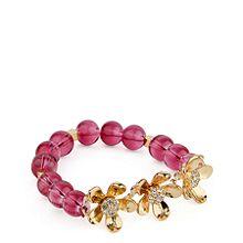 Petals Beaded Stretch Bracelet