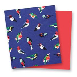 Mini Tody Birds Blue