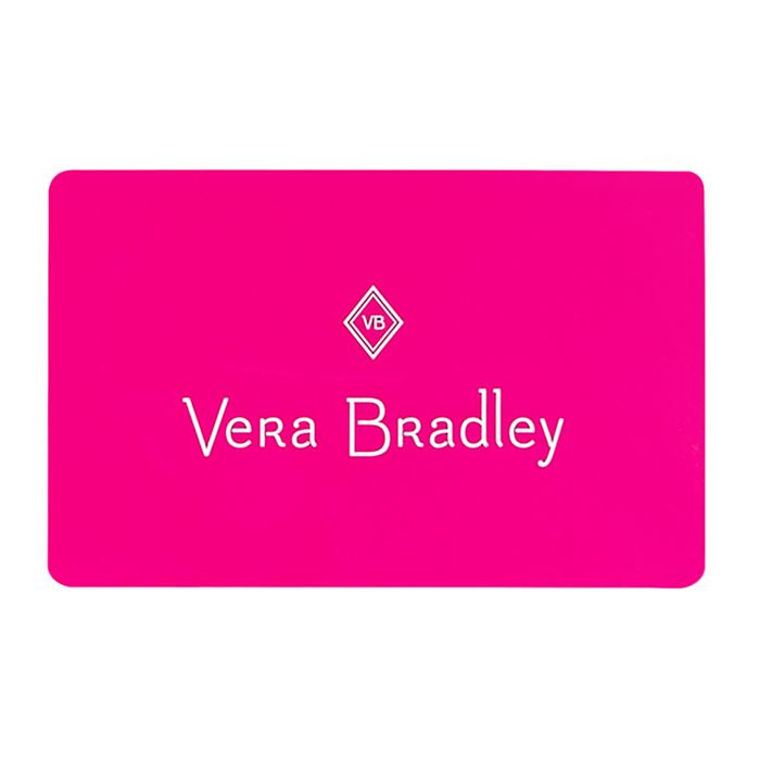E gift card vera bradley image of e gift card in pink negle Choice Image