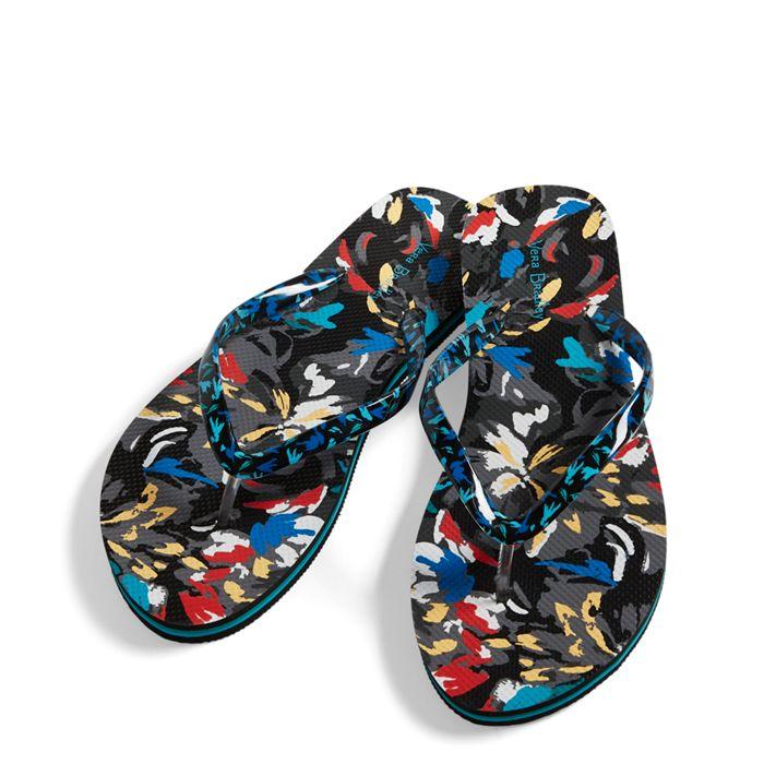 Image of Flip Flops in Splash Floral