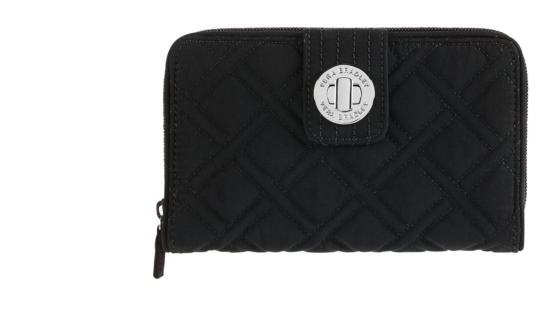 Turnlock Wallet | Vera Bradley : black quilted wallet - Adamdwight.com