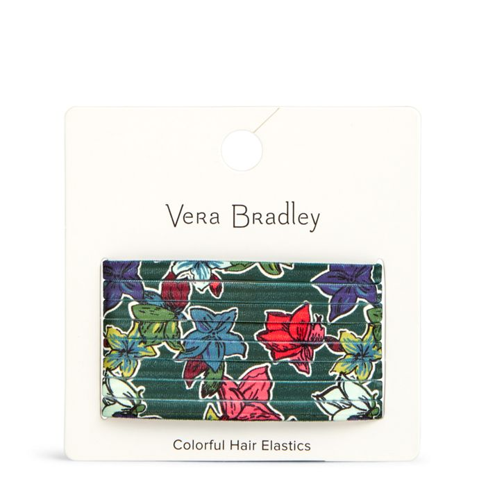 Colorful Hair Elastics | Vera Bradley