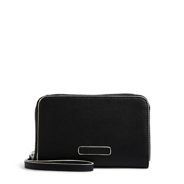 Image of Zip-Around Wristlet  in Northbrook Black