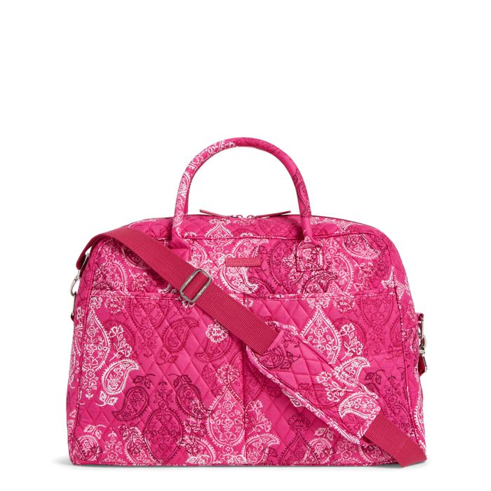 Vera Bradley Factory Style Weekender Travel Bag