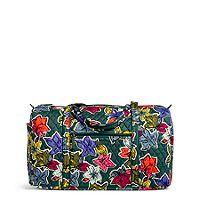 Large Duffel in Falling Flowers Travel Bags