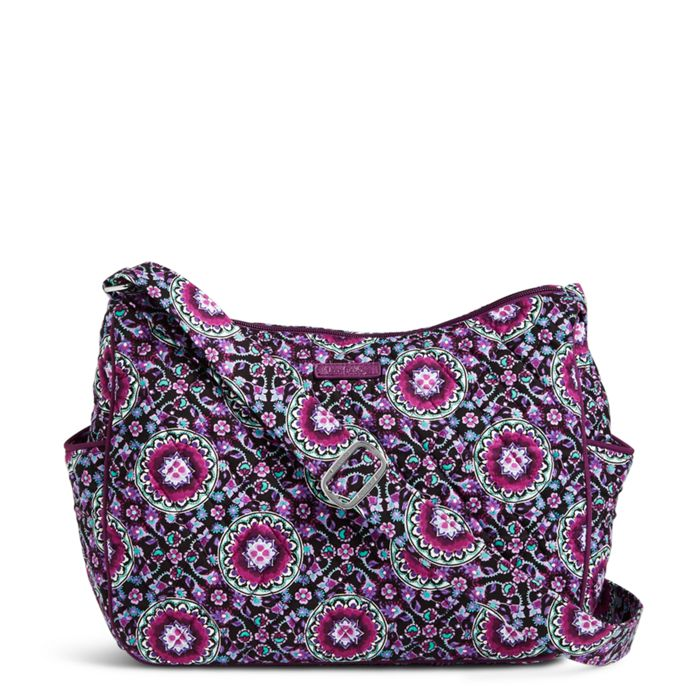 Image Of On The Go Crossbody In Lilac Medallion