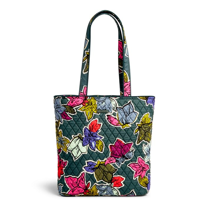 Image of Tote in Falling Flowers