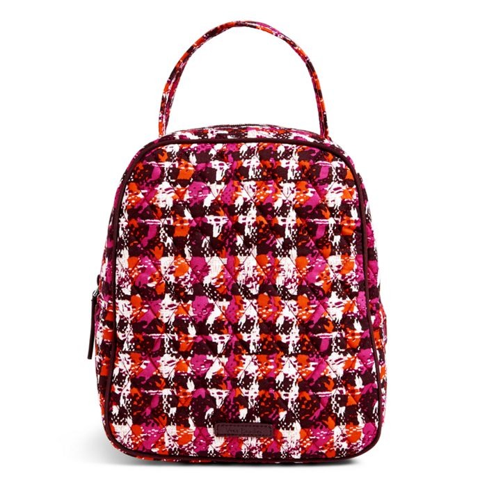 Image of Lunch Bunch Bag in Houndstooth Tweed