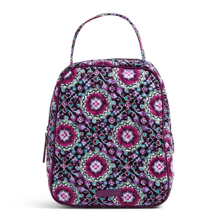 Image Of Lunch Bunch Bag In Lilac Medallion