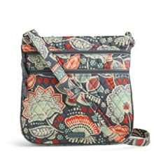 Triple Zip Hipster Crossbody