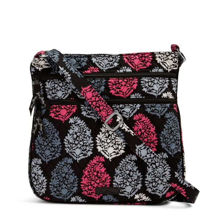 Vera Bradley Triple Zip Hipster Crossbody Bags