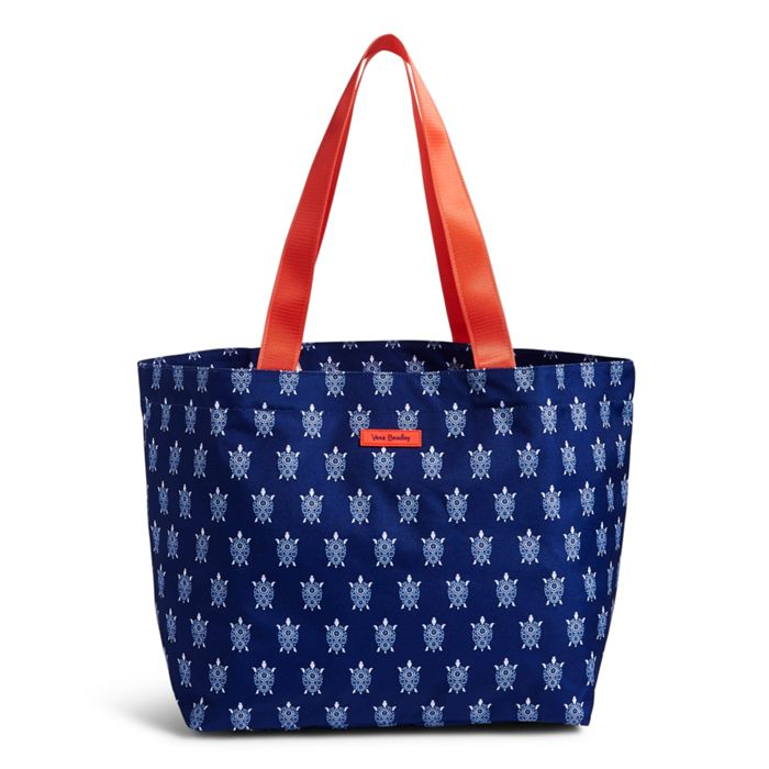 Image of Factory Style Lighten Up Large Family Tote in Turtles
