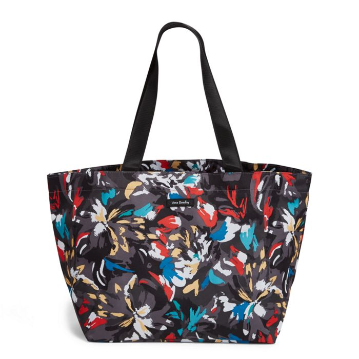 Image of Factory Style Lighten Up Large Family Tote in Splash Floral