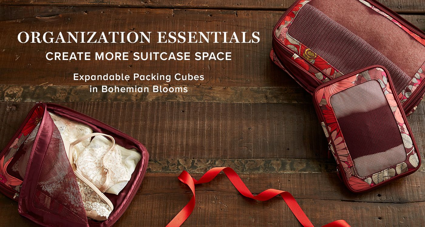 Expandable Packing Cubes