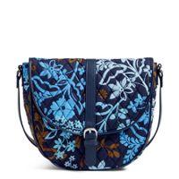 Deals on Vera Bradley Slim Saddle Bag