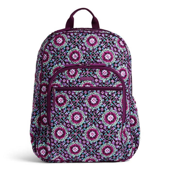 Image Of Campus Tech Backpack In Lilac Medallion