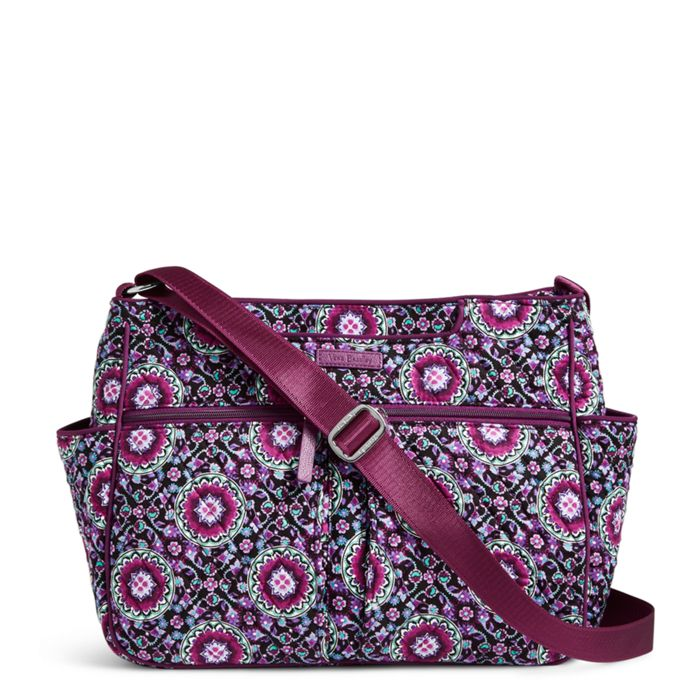 Image Of Plenty Pockets Crossbody In Lilac Medallion