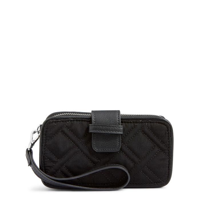 Vera Bradley RFID Smartphone Wristlet (Classic Black) Wristlet Handbags 26b9Ie
