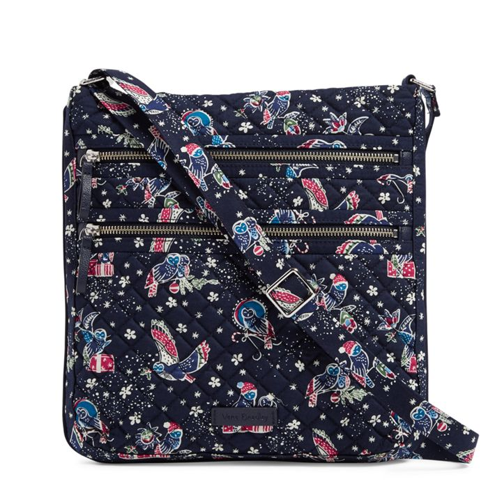 Image of Iconic Triple Zip Hipster in Holiday Owls a130fcbd06d83