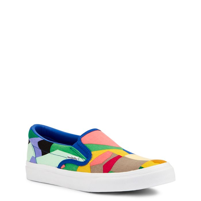 Image of Canvas Slip-On Shoes in Pop Art