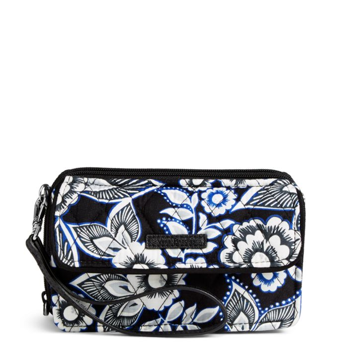 Image Of Rfid All In One Crossbody Snow Lotus