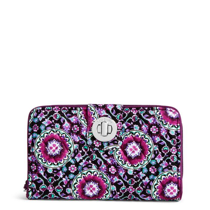 Rfid Turnlock Wallet Vera Bradley