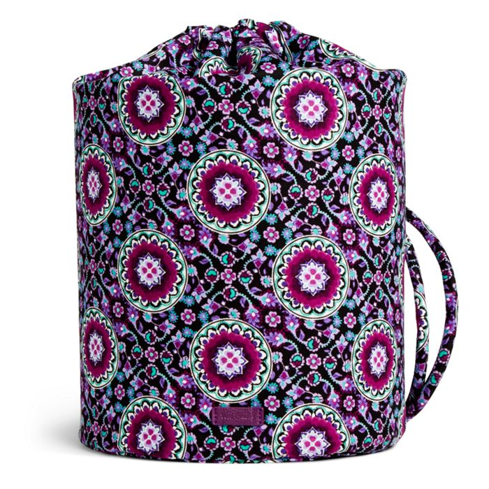 Image Of Iconic Ditty Bag In Lilac Medallion