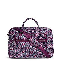 Iconic Grand Weekender Travel Bag in Lilac Medallion