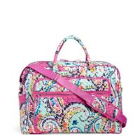 Iconic Grand Weekender Travel Bag in Wildflower Paisley