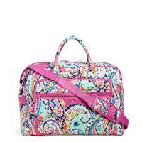Iconic Grand Weekender Travel Bag in Wildflower Paisley