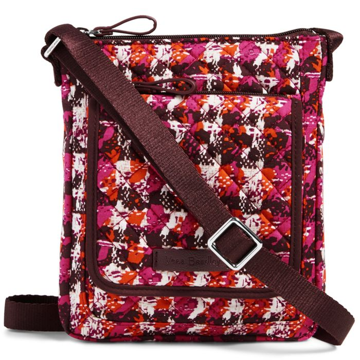 Image of Iconic RFID Mini Hipster in Houndstooth Tweed