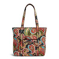 Iconic Vera Tote in Heirloom Paisley Shop Totes