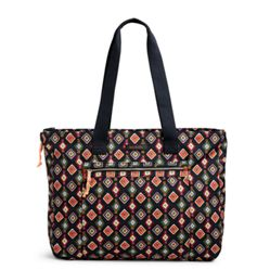 Vera Bradley Lighten Up Expandable Tote (Cut Vines) Bags C4MW0HH6U