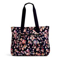Lighten Up Expandable Tote in Cut Vines