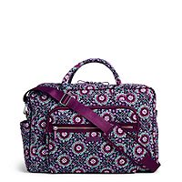 Iconic Weekender Travel Bag in Lilac Medallion